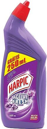 Limpador Desinfetante Sanitário Active Fresh Líquido Lavanda 750 Ml Embalagem Econômica, Harpic