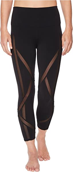 ALO - High-Waist Laced Capris