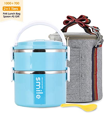 404abef6ae55 Amazon.ae: 3 tier lunch boxes bags