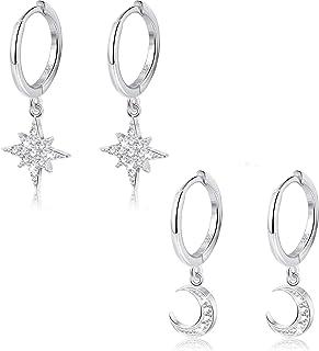 boucles doreilles celtiques en argent sterling 925 Boucles doreilles en argent pour femmes cadeaux de bijoux pour m/ère femme et petite amie