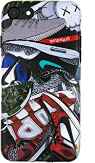 Sneakerhead Artwork - TPU Flexible Plastic Protective Case/Cover / Skin/Bumper for iPhone (iPhone 7+/8 Plus)