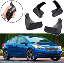 SPEEDLONG 4Pcs Car Mud Flaps Splash Guard Fender Mudguard for KIA Forte Sedan 2014 2015 2016