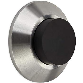 Nouveau 20 Porte en Caoutchouc Arrêts Complet Avec Vis Noir Blanc 28 mm ou 33 mm