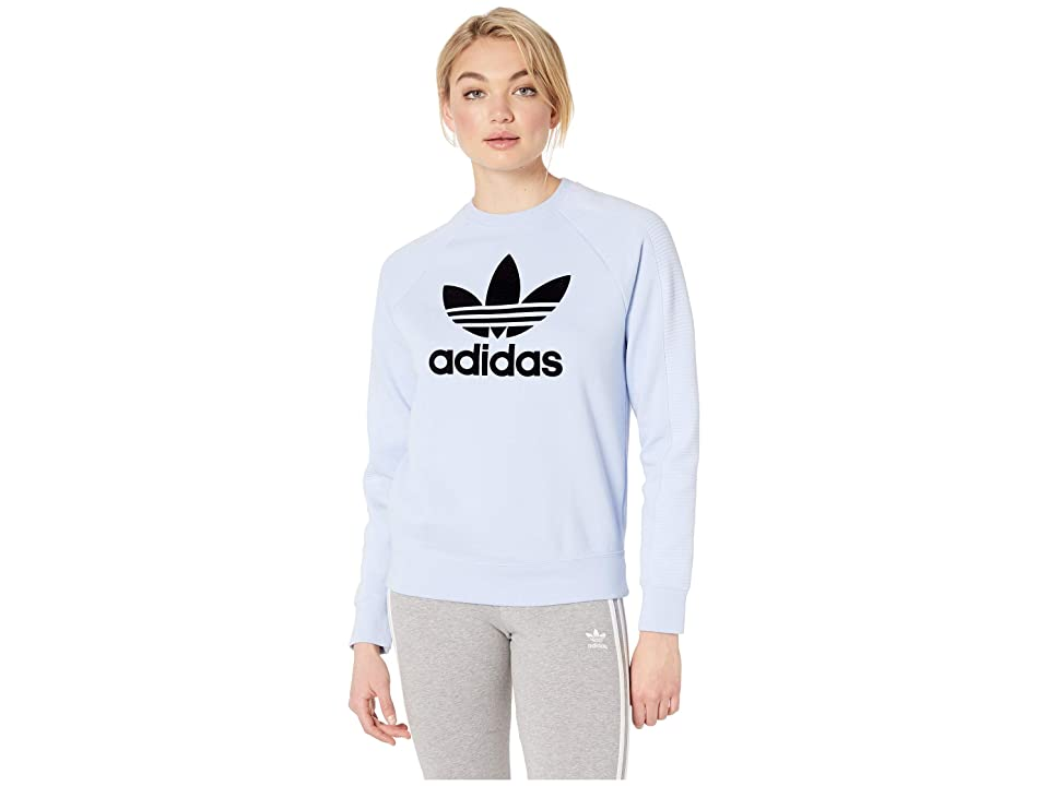 adidas Originals Sweater (Periwinkle/Black) Women
