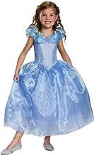 Disguise Cinderella Movie Deluxe Costume, Medium (7-8)