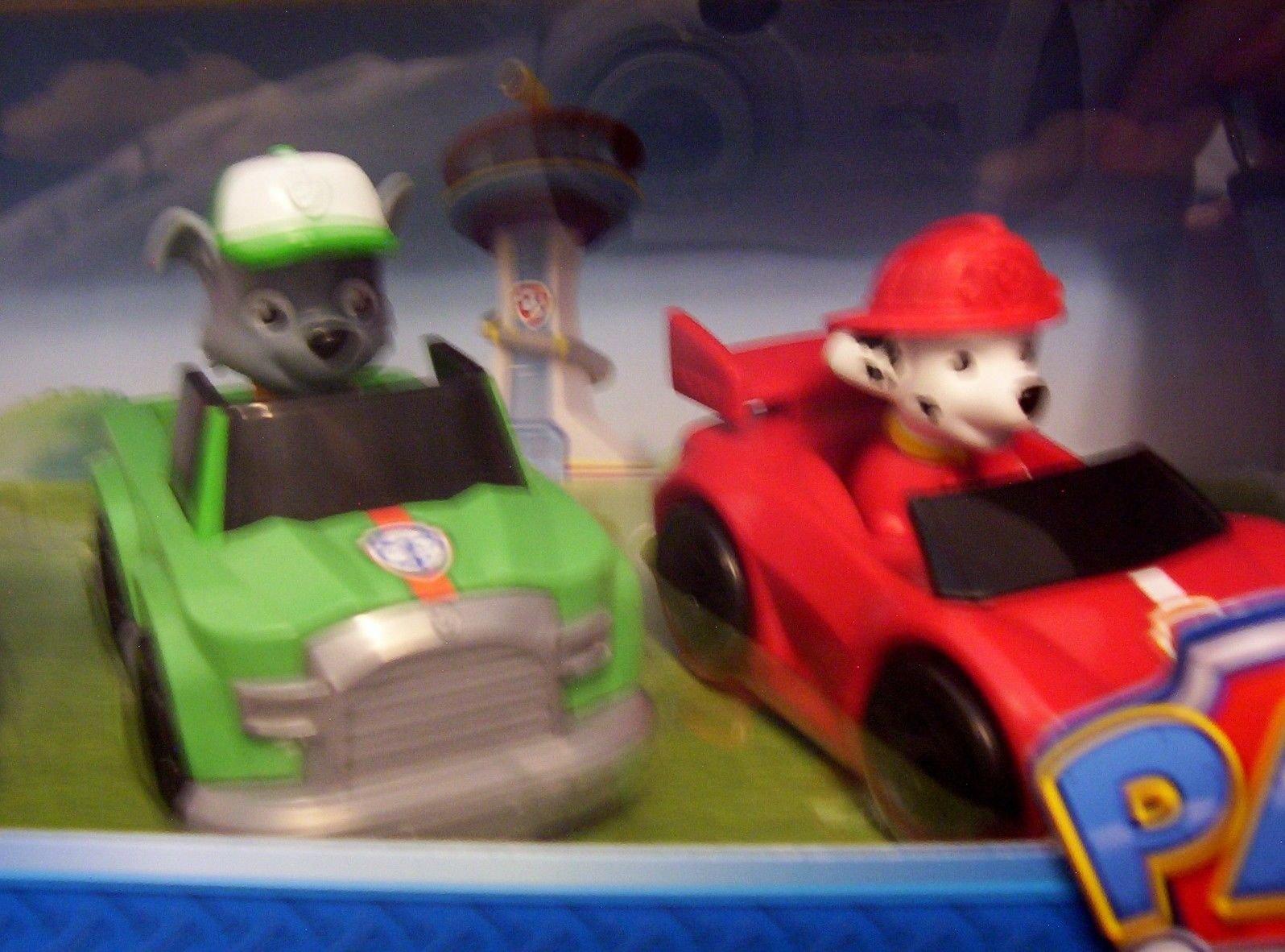 Pack de 6 Paw Patrol Racers, Set de Coches Patrulla Canina Que Incluye Chase, Zuma, Rubble, Skye, Rocky y Marshall Racers Nueva EDICIÓN 2017: Amazon.es: Juguetes y juegos