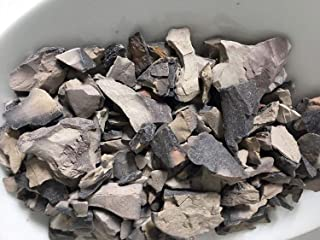 India Clay Edible Indian Roasted Clay (Grey, 250g)