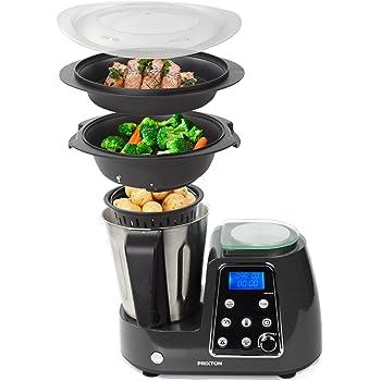 PRIXTON Kitchen Gourmet KG200 - Robot de Cocina Multifunción ...