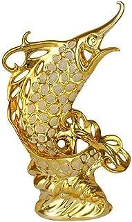 Luckyw Skulpturdekorationer, ornament keramiska hantverk mode porslin prydnader inflyttningspresent