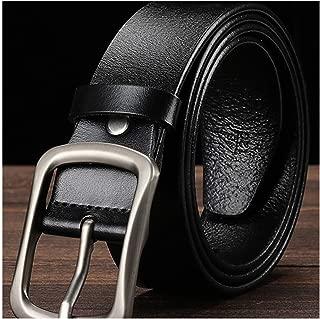 ZFADDS Cowhide Leather Belts For Men Cowboy Luxury Strap Male Fancy Jeans Designer Belt Men