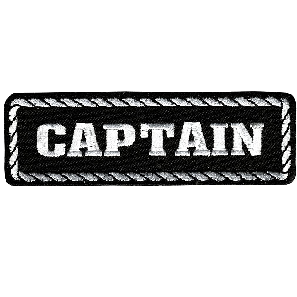 Hot Leathers Captain Patch (4