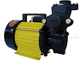 Lakshmi 0.5 HP Self Priming Monoblock Water Pump (Yellow/Green)