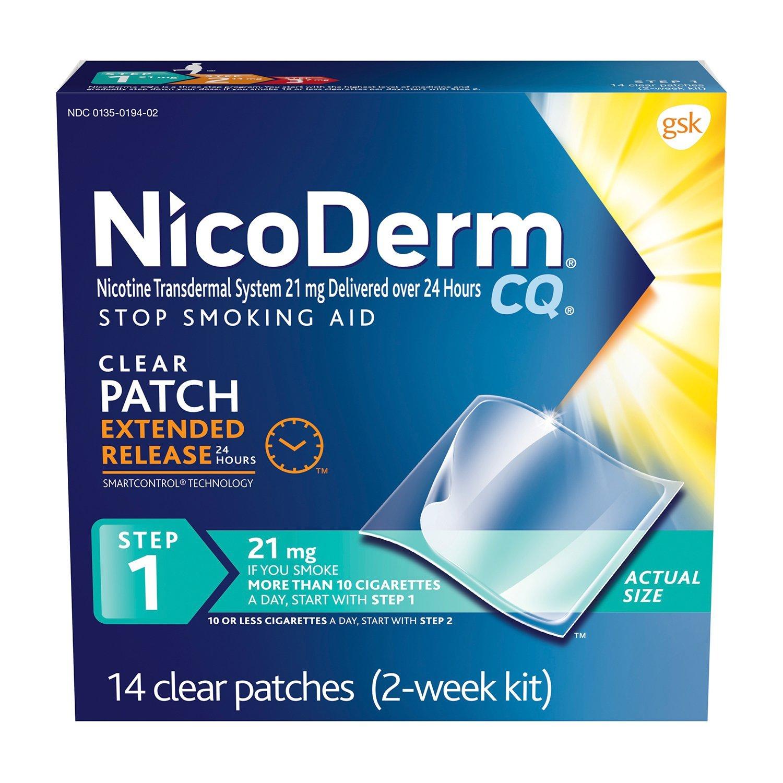 NicoDerm CQ Nicotine Patch Smoking