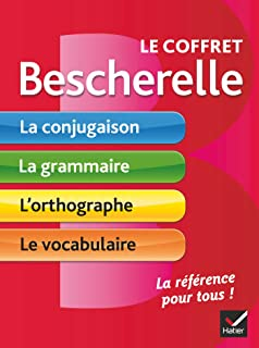 Le coffret Bescherelle: conjugaison / grammaire / orthographe / vocabulaire - Conjugation / Grammar / Spelling / Vocabulary in French (French Edition)