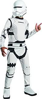 Rubies - Disfraz para niños Star Wars The Force Awakens Flametrooper, 3-4 años, Color Blanco y Negro (620087)