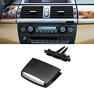 For BMW X5/X6 Air Vent Tab, Jaronx Upgraded Front Row Fresh Air Grille Clips Air Conditioning Vent Outlet Tab Clip (For BMW X5 E70 2006-2012, X6 E71 2008-2013) (Front Row)