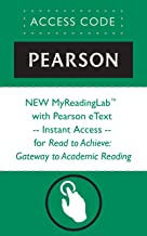 NEW MyReadingLab™  with Pearson eText -- Instant Access -- for Read to Achieve: Gateway to Academic Reading (Myreadinglab (Access Codes))