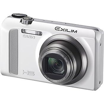 CASIO デジタルカメラ EXILIM EXZR500WE ハイスピードカメラ 1610万画素 5軸手ブレ補正 EX-ZR500WE ホワイト