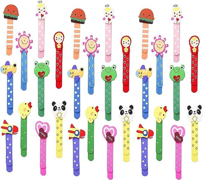388 opinioni per Animali Segnalibro Coloratissimi 30 pezzi, Annhao bambini in legno idea, Bambini