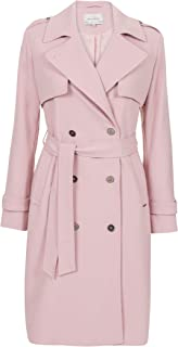 Promiss Damen Mantel Einfarbig Catania Damen Coat Catania - Trenchcoat Aus Weicher Viskosemischung