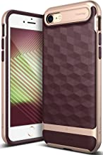 Caseology Parallax for Apple iPhone 8 Case (2017) / for iPhone 7 Case (2016) - Award Winning Design - Burgundy