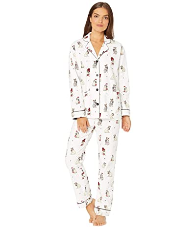 P.J. Salvage Ba Hum Pug Sleep Set (Ivory) Women