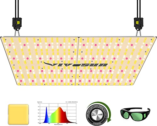 high quality VIVOSUN Latest VS4000 LED Grow Light with Samsung LM301H Diodes & Brand Driver Dimmable Lights Sunlike wholesale Full Spectrum with online Grow Room Glasses for Indoor Plants Seedling Veg and Bloom Plant Growing Lamps outlet sale