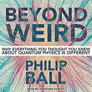 Beyond Weird audiobook cover art