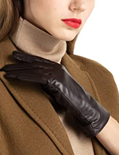 Best brown leather gloves womens Reviews