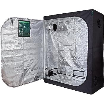 """Oppolite 60""""X32""""X80"""" Indoor Grow Tent Room 600D Reflective Diamond Mylar Hydroponic Garden Growing Plant with Metal Corner (60""""x32""""x80"""")"""