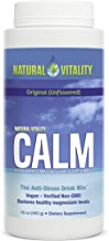 Natural Vitality Calm, The Anti-Stress Drink Mix, Magnesium Supplement Powder, Original Unflavored - 16 ounce
