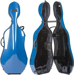 Bam France New Tech 1002NW Blue/Black 4/4 Cello Case with Wheels