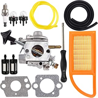 Dalom BR600 Carburetor w Carburetor Adjustment Tool Fit Stihl Stihl BR550 BR500 Backpack Blower C1Q-S183 Carb 4282-120-0606 4282-120-0607 4282-120-0608