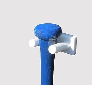 Vertical soporte de pared para un bate de béisbol (hecho en los Estados Unidos)