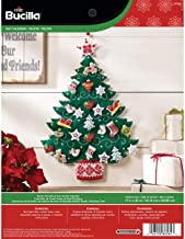 Bucilla 86584 Felt Applique Advent Calendar Kit, 17 by 24-Inch, Nordic Tree