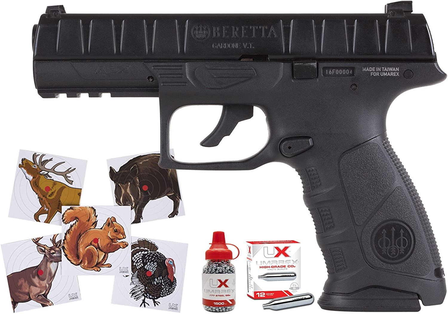 Beretta APX Blowback Air Rifle New product type Combo Pistol Super sale air