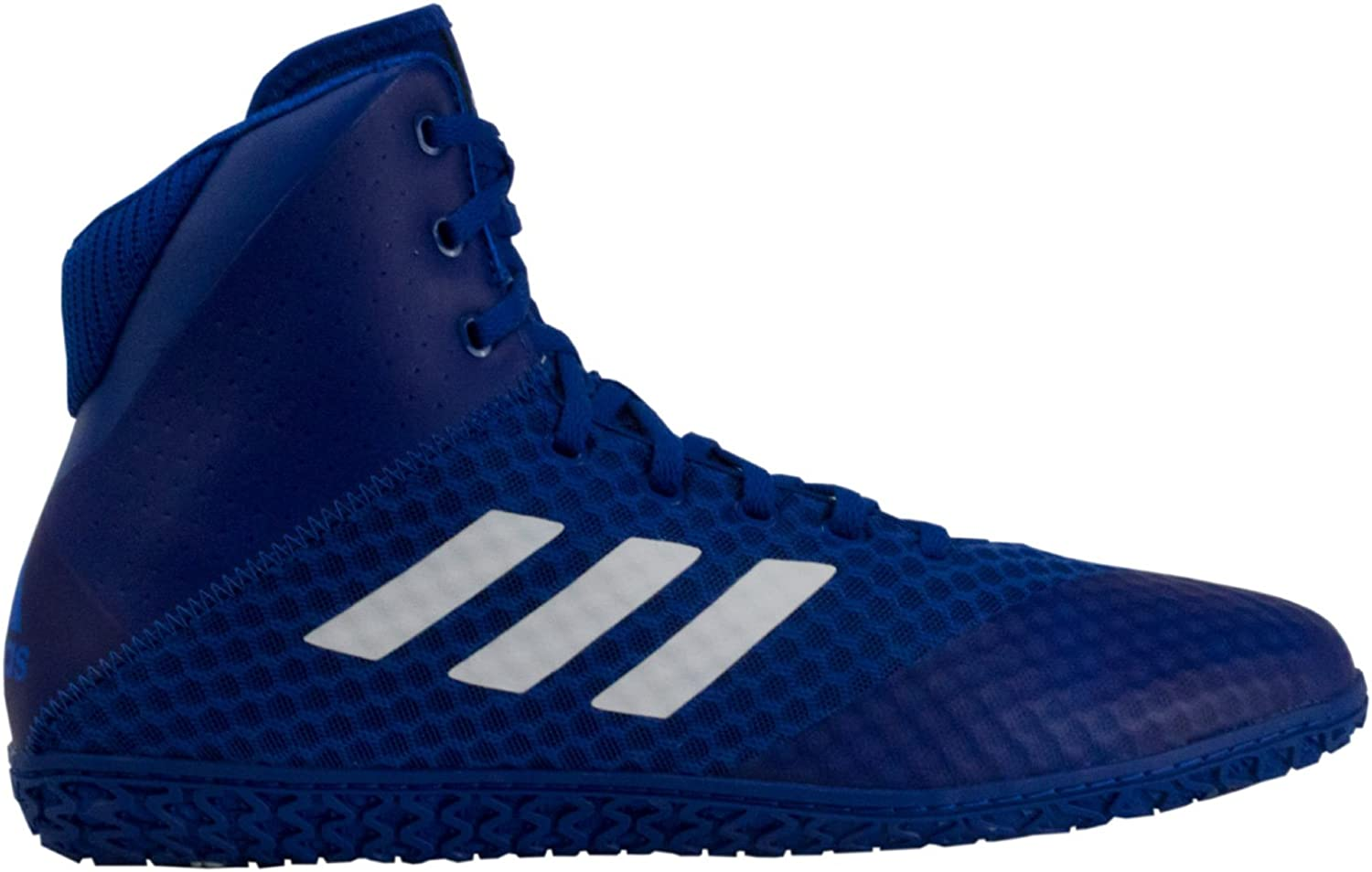 adidas Mat Wizard 4 safety Men's Department store Wrestling 10 White Royal Size Shoes