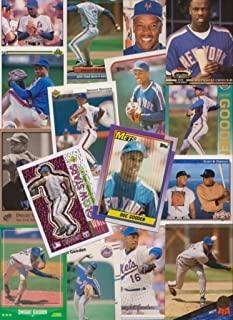 Dwight Gooden Baseball Cards / 50 Card Lot - All Different
