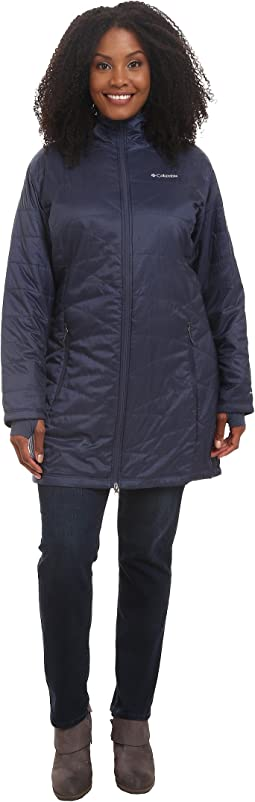 Plus Size Mighty Lite™ Hooded Jacket