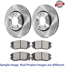 Inroble - For 2007 Cadillac STS Base (12.72in; 5 Stud Rotor; GM Brake Code JE5; Vented) Premium Quality Front Disc Brake R...