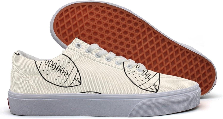 Women American Football Pattern Fashion Sneakers For Women