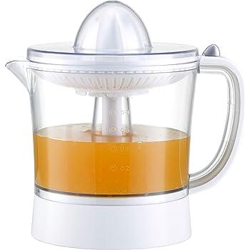 Exprimidor eléctrico de naranjas para zumo Family Care, jarra libre de BPA con 1000ml, filtro de pulpa ajustable, boquilla antigoteo, accesorios desmontables apto para lavavajillas, potencia 40W: Amazon.es: Hogar