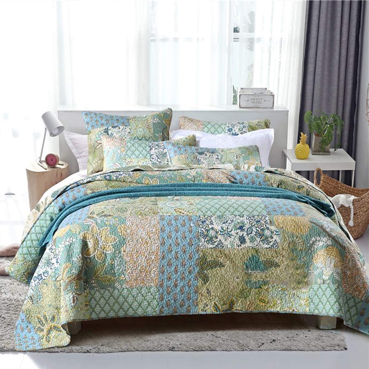 Bohemian Outlet SALE bedspreads King Size Quilt Reversible Cotton Sets 100% 2021 model