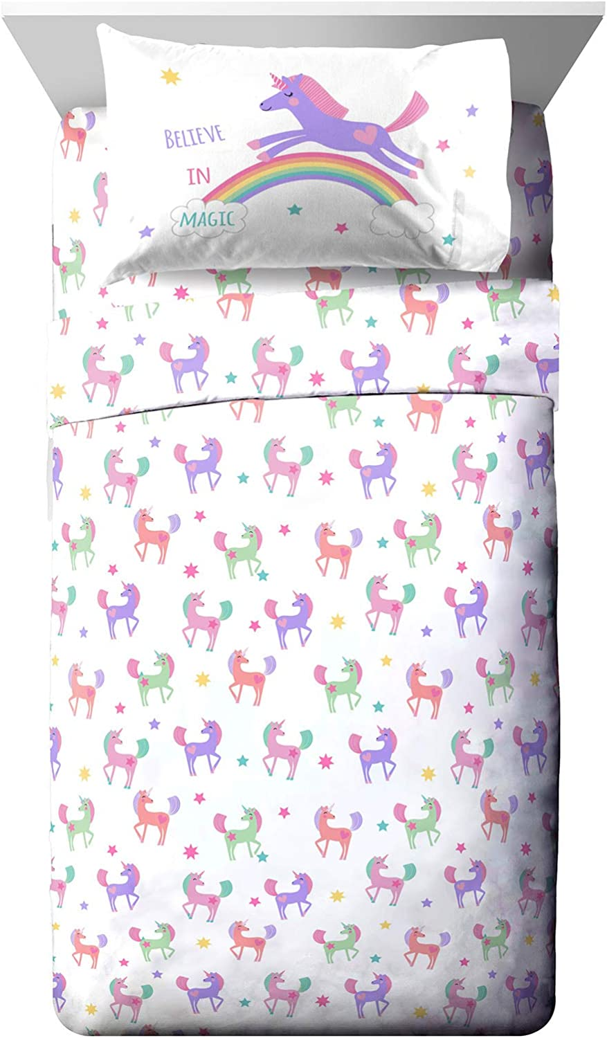 Genuine Free Shipping Max 66% OFF Jay Franco Trend Collector Believe Full - Piece 4 Sheet Set