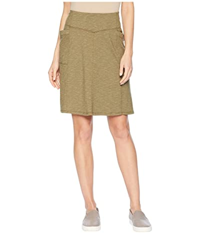 Toad&Co Foxon Skirt (Rustic Olive) Women