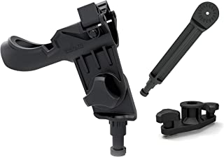 Stealth - Fishing Rod Holder for Kayaks - Quick Release System Fits Most Kayak Rails Including Harmony,  Wilderness Systems,  Native,  Hobie,  Scotty and Yak Gear Trac Kayaks