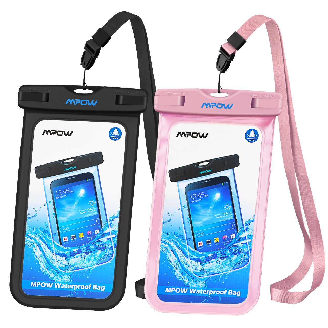 Mpow Universal Waterproof Compatible iPhone