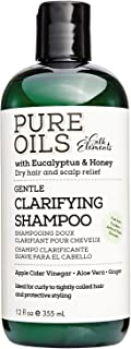 Silk Elements Eucalyptus & Honey Dry Hair & Scalp Relief Gentle Detoxifying Shampoo