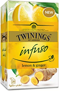 Twinings Infuso Lemon  Ginger - 20s