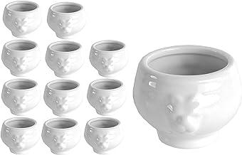 Thermom/ètre Porcelaine Blanc 600 g G/én/érique 011337 Coffret Terrine